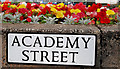 J3374 : Academy Street sign, Belfast : Week 31