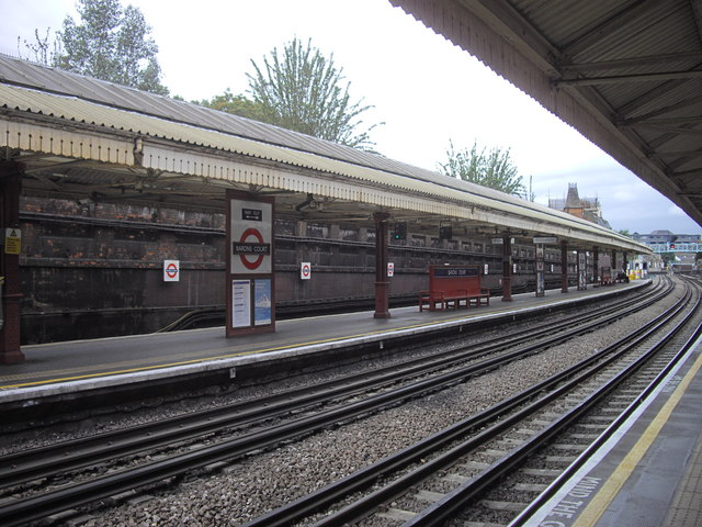 Barons Court Underground Station