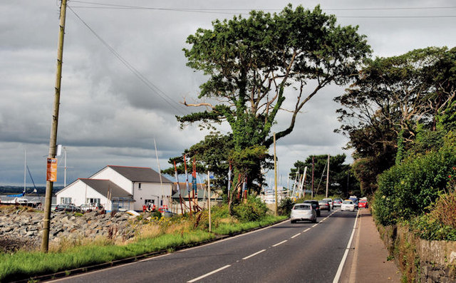 The Portaferry Road near Newtownards