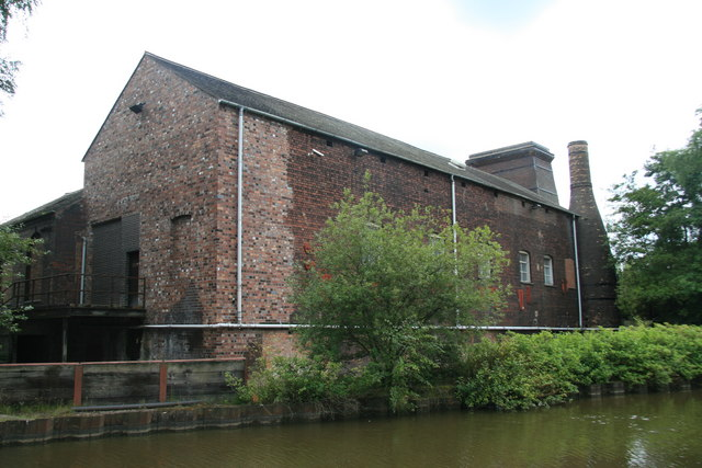 Oliver's Mill, Newport Lane, Burslem