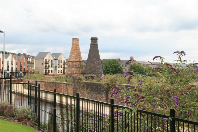 Preserved bottle ovens, Hanley