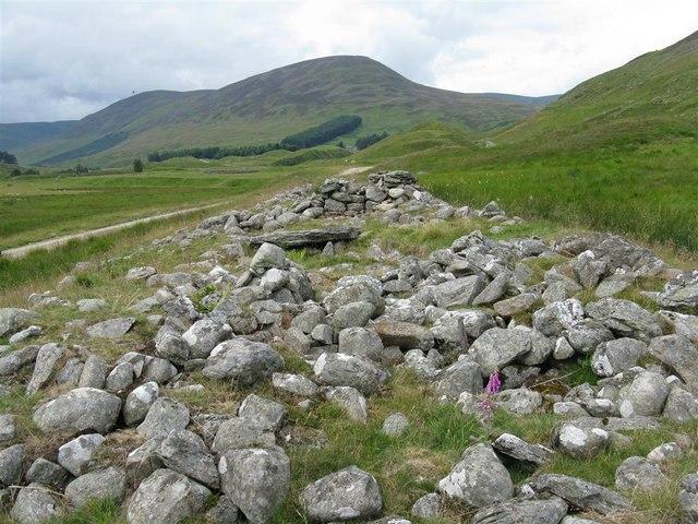 Clach na Tiompan chambered cairn