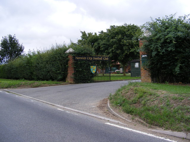 Norwich City Football Club Entrance