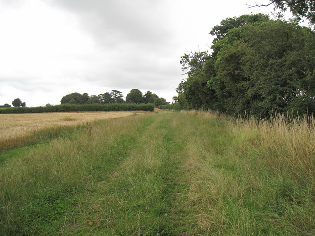 Footpath to Great Barrow