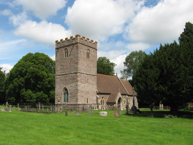 Llanfrynach church