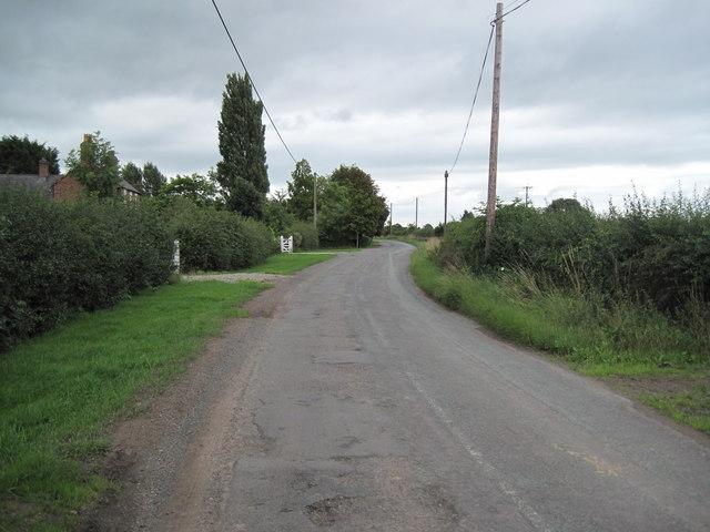 Irons Lane, Hollowmore Heath