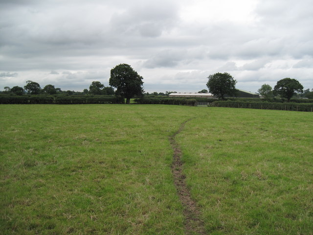 Farmland in Cheshire