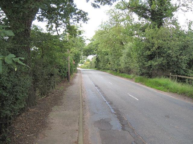 B5393 Manley Road
