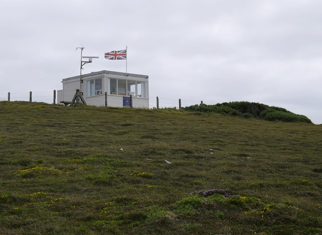 Coastguard station, St Agnes Head