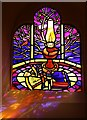 NJ4265 : Seamen's Memorial Stained Glass Window (6) by Anne Burgess