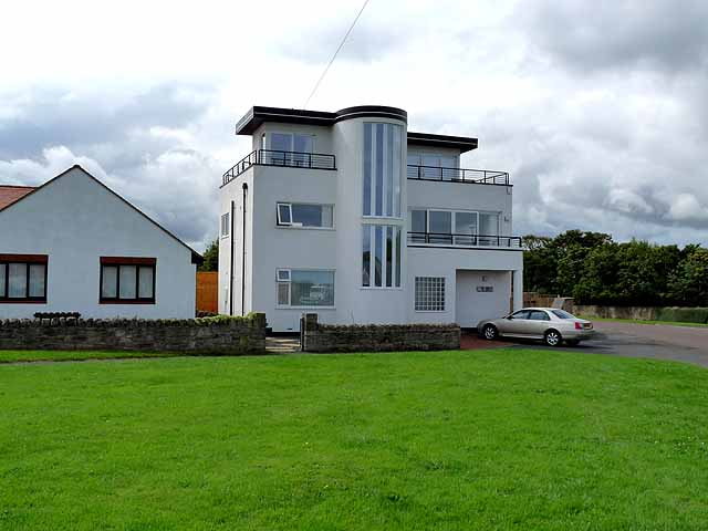 Art Deco House Beadnell 169 Oliver Dixon Geograph