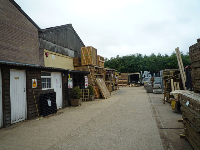 Fencing Supplies Yard