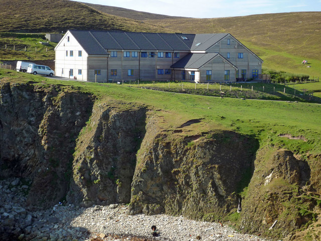 Fair Isle Bird Observatory reopened June... © Julian Paren ...