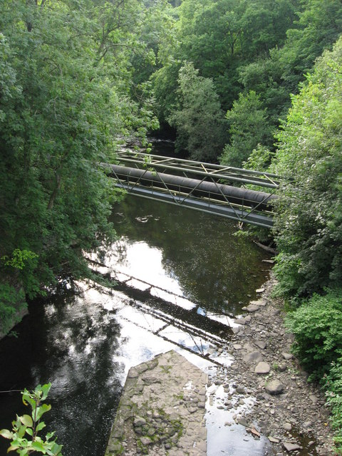 River Taff near Quaker's Yard