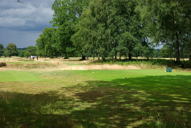 Walton Heath Golf Club - 10th tee, new course?
