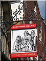 TQ8209 : Ye Olde Pumphouse sign by Oast House Archive