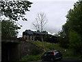 SJ4469 : Steam Special Crossing the Road Bridge at Mickle Trafford by John Lindsay
