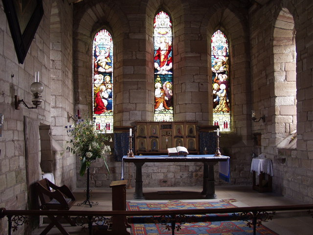 The altar, Lindisfarne Parish Church