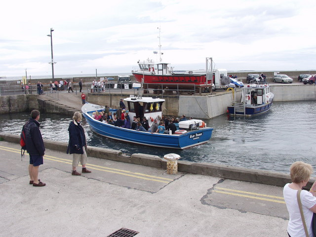 Trip Boat at Seahouses harbour