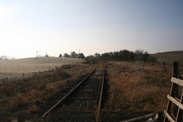 Railway Line near Nobber Co. Meath (1)