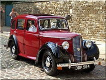 SK9771 : Castle Hill, Lincoln - Vehicle by Dave Hitchborne