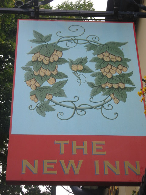 The New Inn Pub Sign