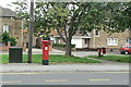 SK5745 : Mansfield Road postbox ref: NG5 415 by Alan Murray-Rust