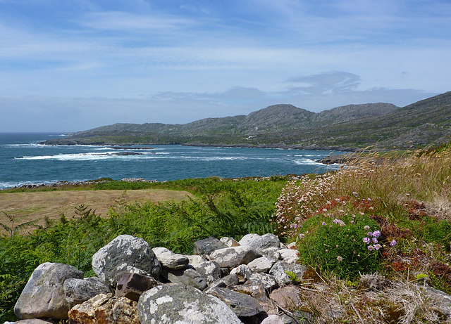 Coastline on Beara Peninsula