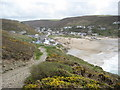 SW6948 : Approaching Porthtowan by Philip Halling