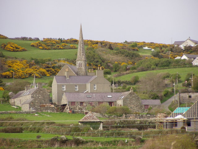 Pen y Graig farm, Church Bay, Anglesey