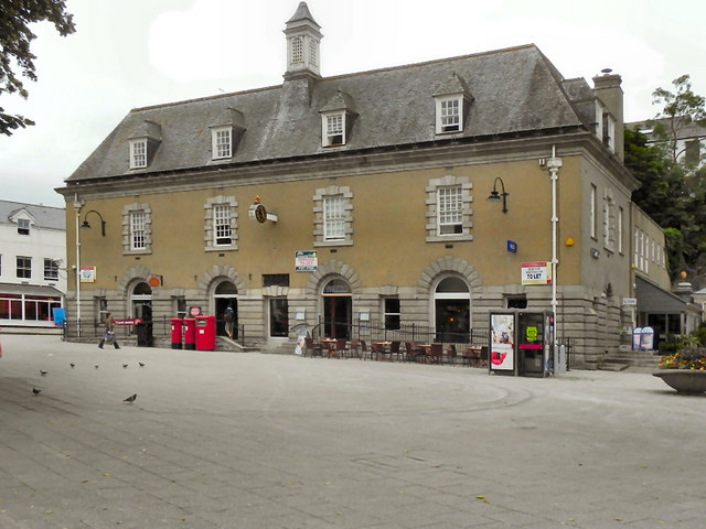 Falmouth post office the moor david dixon cc by sa 2 0 geograph britain and ireland - Great britain post office ...