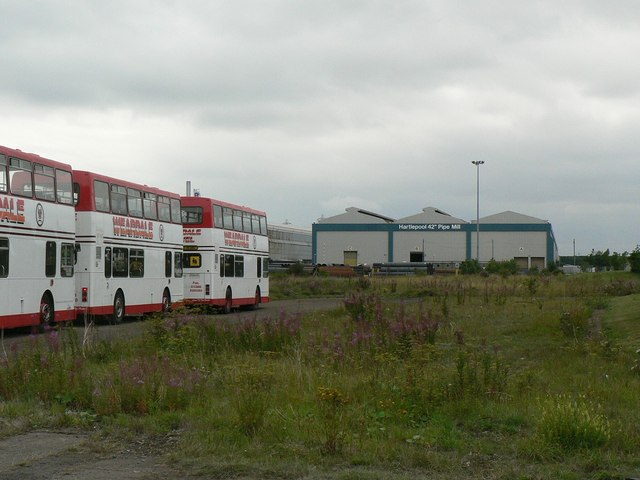 Park and Ride buses, Corus site, Tall Ships 2010