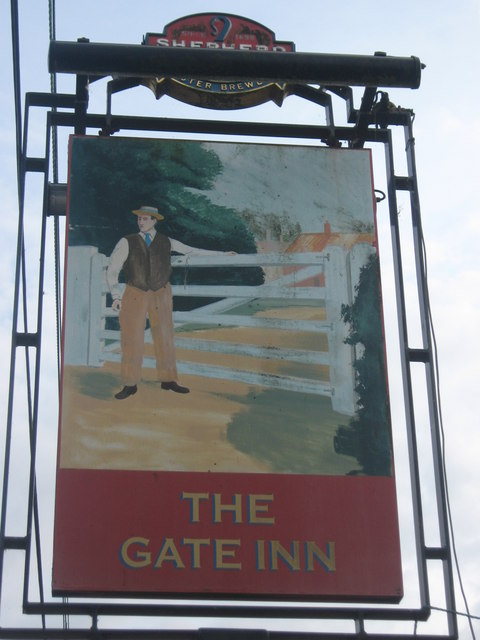 The Gate Inn Pub Sign