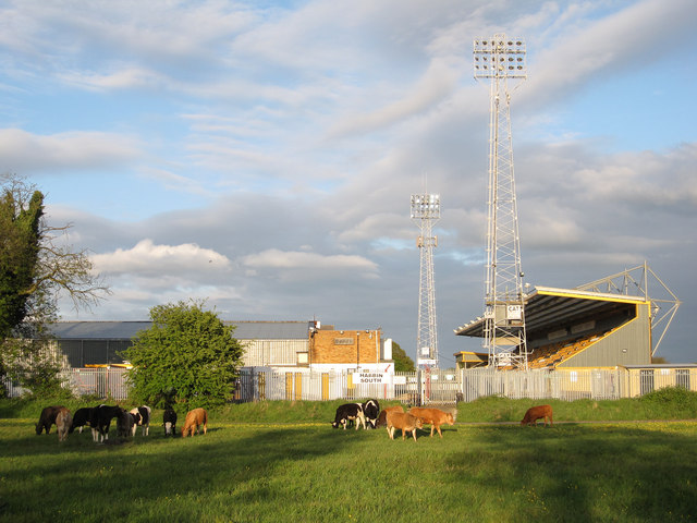 Abbey Stadium, Cambridge United's home