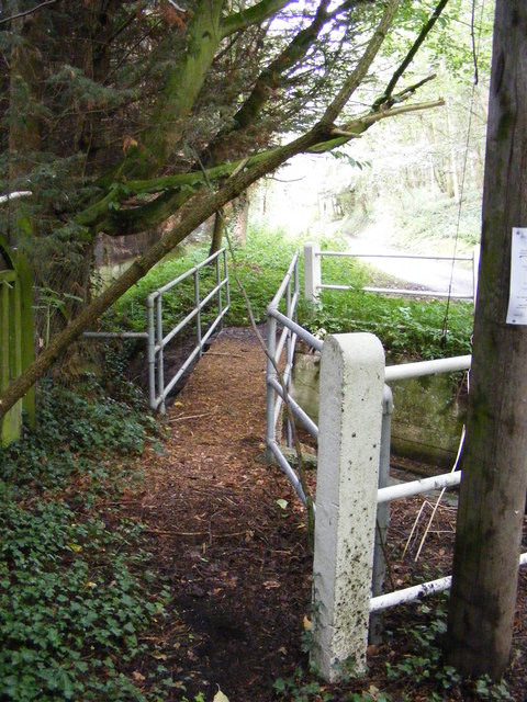 Footbridge over The River Fromus