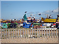 TQ8209 : Hastings Fishing Boats by Oast House Archive