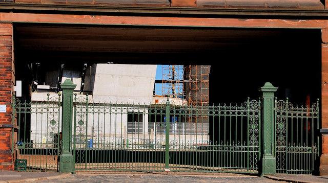 Former Harland & Wolff gates, Belfast (1)