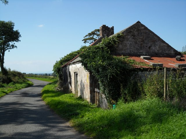 Derelict cottage at Ballygowan