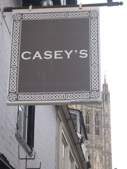 Casey's Pub Sign