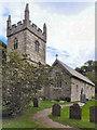 SW7827 : Parish Church of St Mawnan by David Dixon