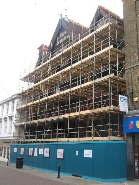 The Beany under going redevelopment