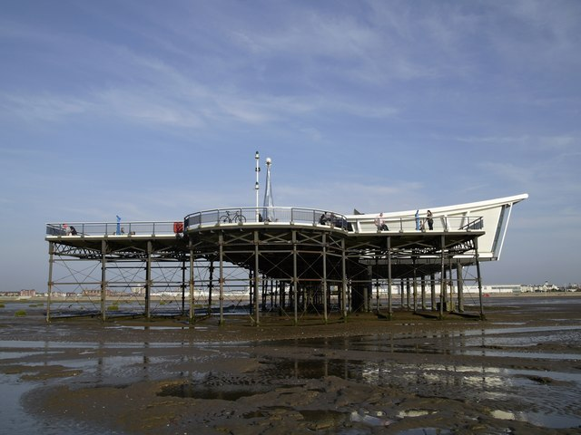 End of Southport Pier