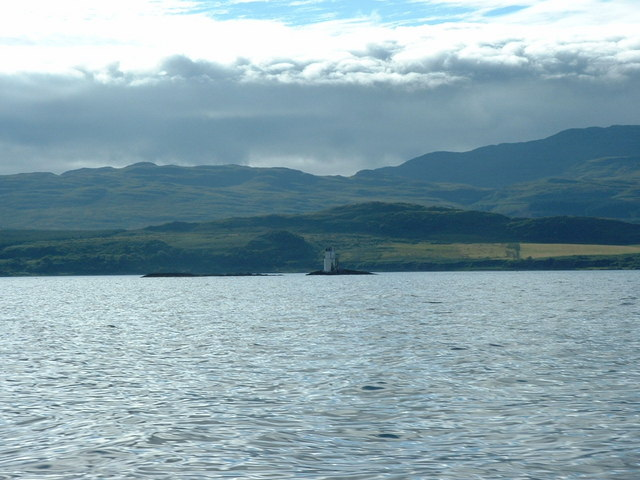 Na Cuiltean lighthouse
