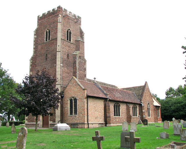 St Faith's church in Gaywood