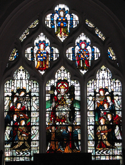 St Faith's church in Gaywood - east window