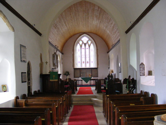 Inside Holy Trinity Church, Middleton