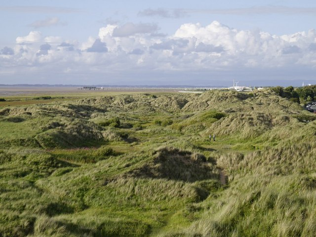 Southport from the Birkdale Dunes
