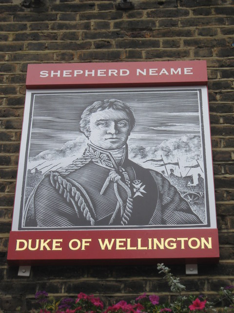 Duke of Wellington, London Pub Sign