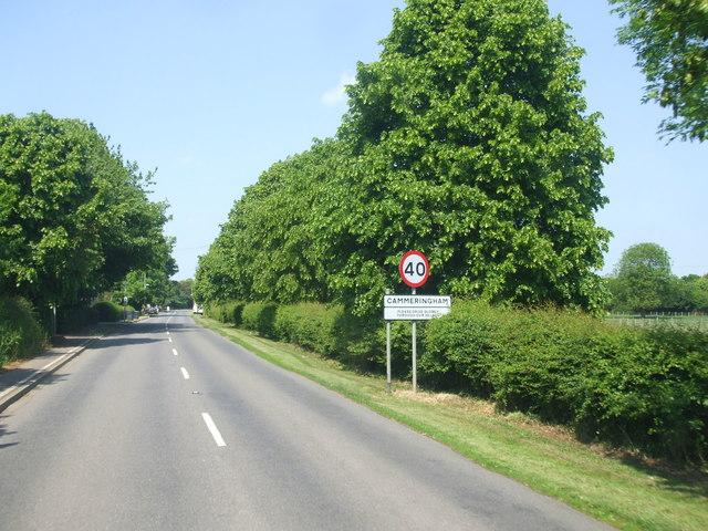 Entering Cammeringham
