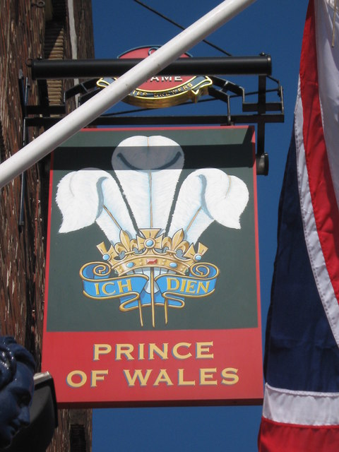 Prince of Wales Pub Sign